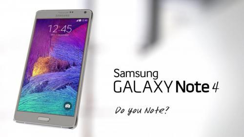 Samsung Galaxy Note 4 Ad Campaign